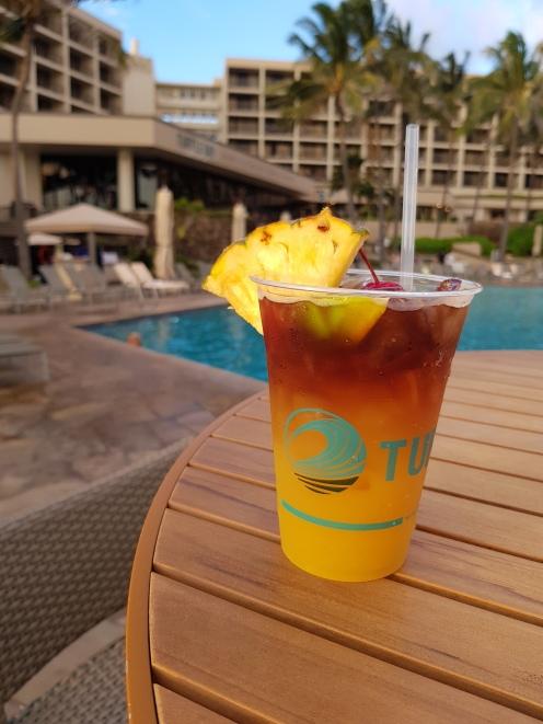 Mai Tais by the pool